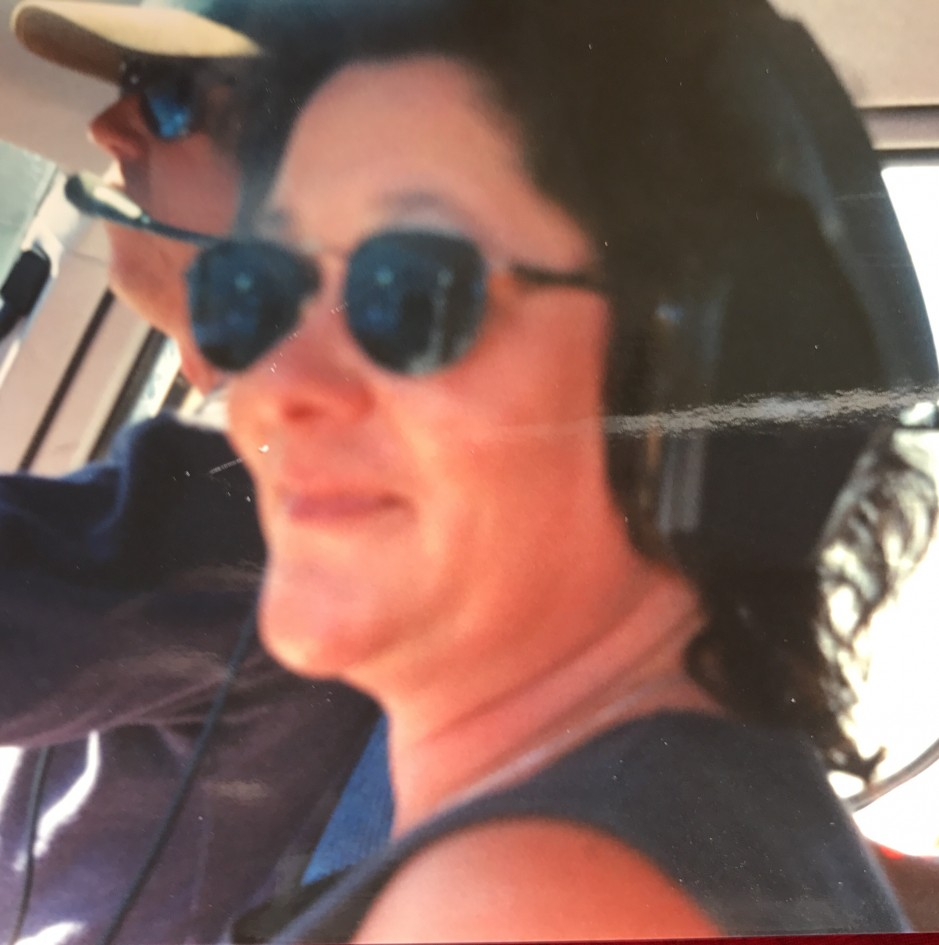 This is me in the seat sitting next to the helicopter pilot, while on vacation in Hawaii in 2000