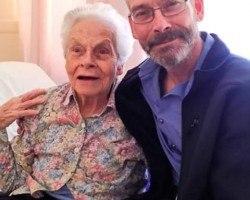 My awesome Mom! Turned 90! Love you Mom!