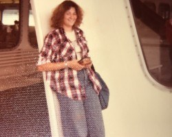 Me on a Ferryboat 1976